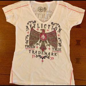Affliction Short Sleeve T-shirt Size L